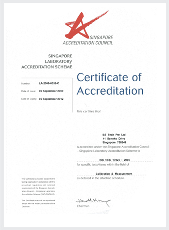 Certification & Awards Singapore